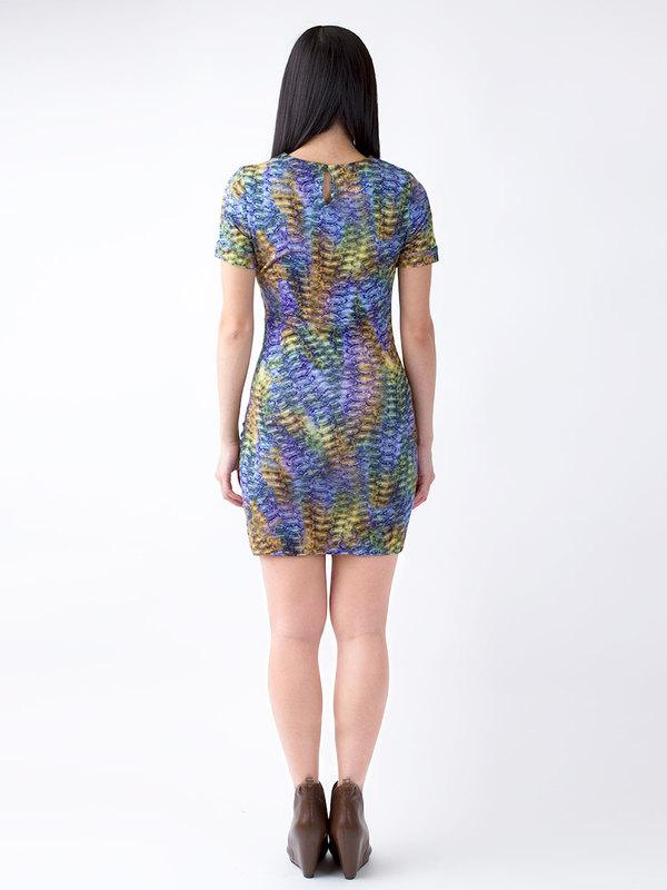 Sasha Ruched Side Dress