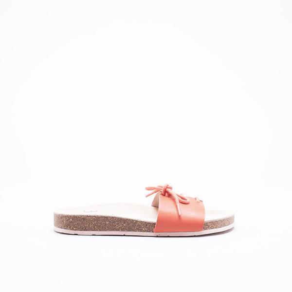Charlotte Stone Barton Sandals - Coral