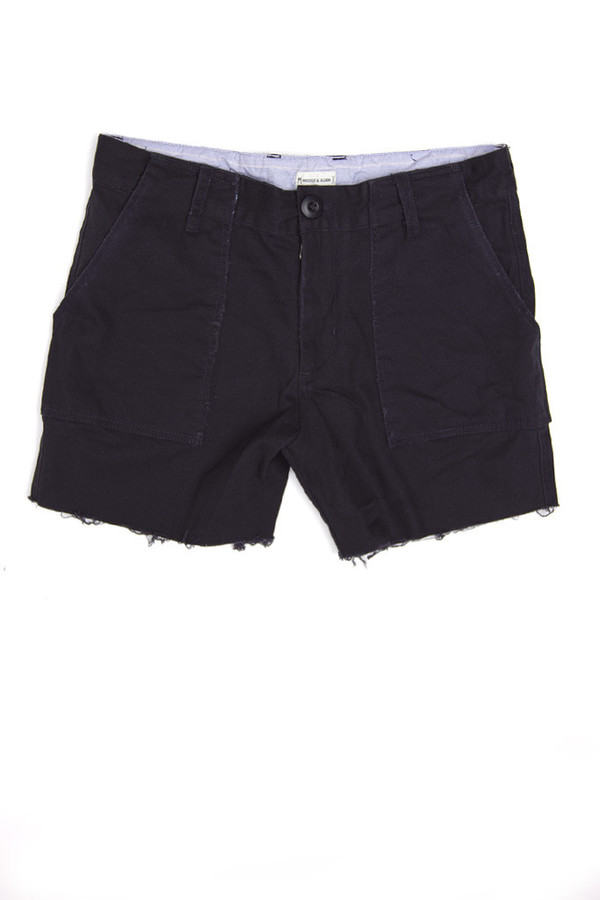 Bridge & Burn Camp Cut Offs | Navy