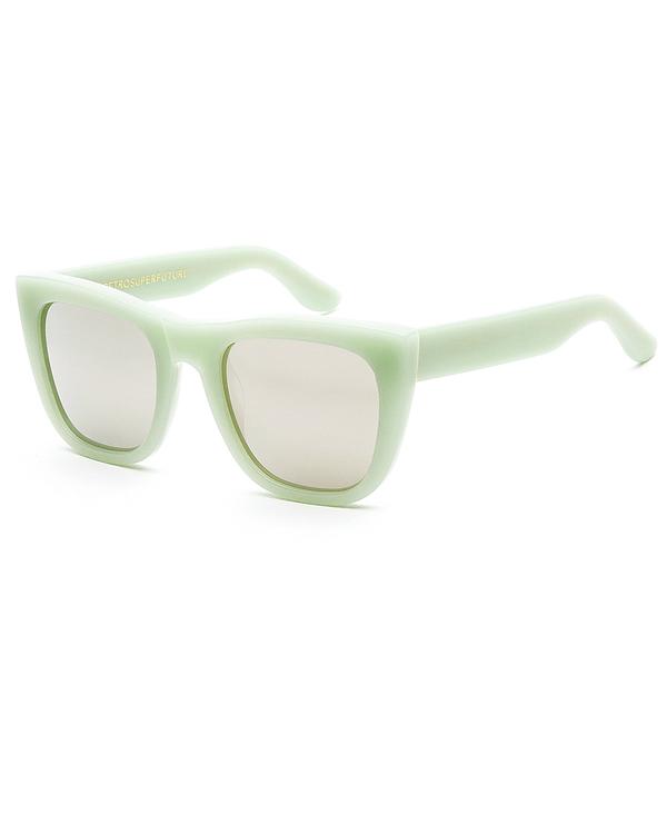 RetroSuperFuture Gals Sunglasses in Ciao Green