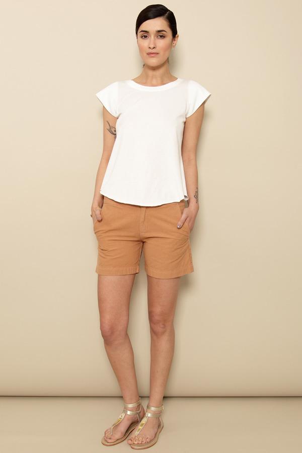 Atelier Delphine Camel Odette Shorts