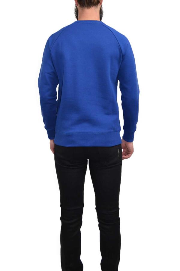 Men's Kitsune Tricolor Patch Sweater