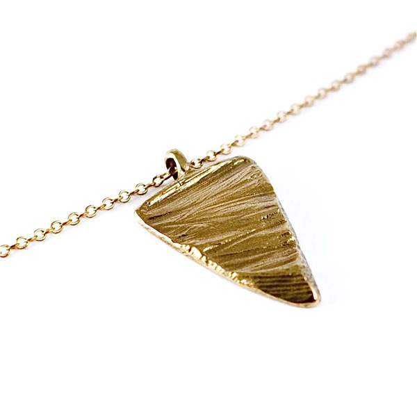 Nettie Kent Slice of Sand pendant