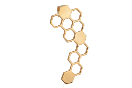Shahla Karimi Honeycomb Ear Jacket