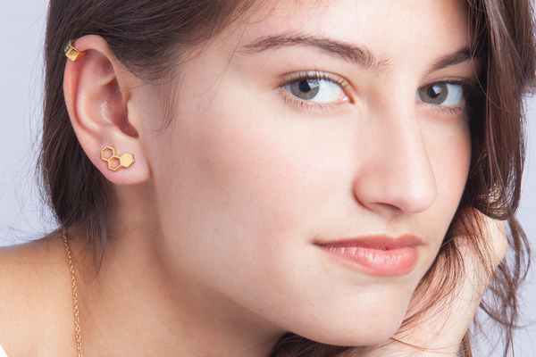 Shahla Karimi Honeycomb Ear Crawler