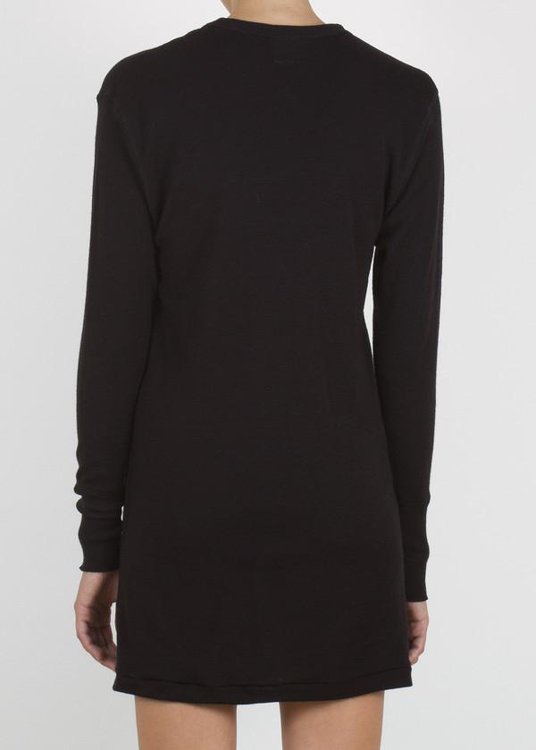 plank sweater - black