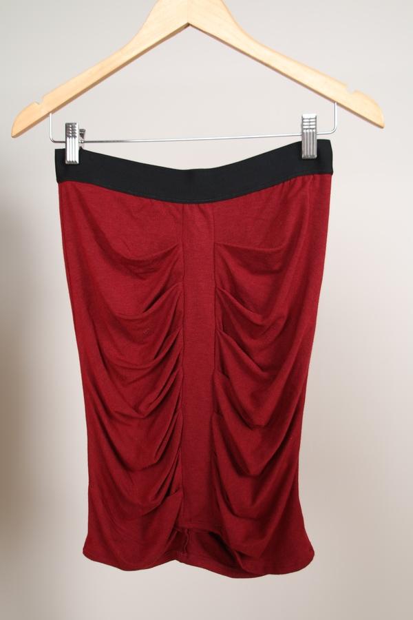 Heather Clothing Descending Pleat Skirt