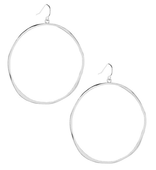 Gorjana G Ring Earring | Silver