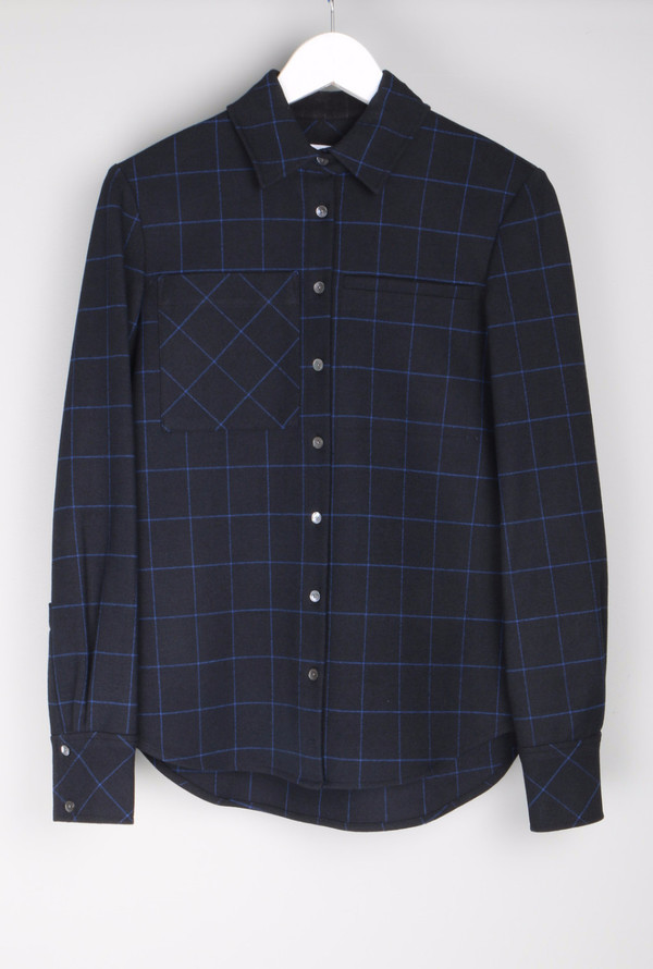 10 Crosby by Derek Lam Camp Shirt