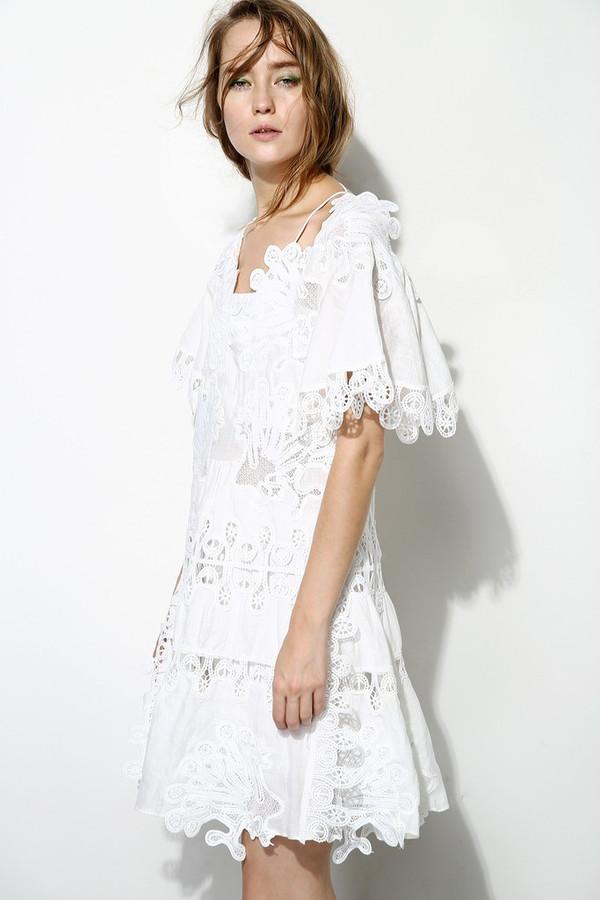 Few Moda Fairy 3D Floral Lace Dress