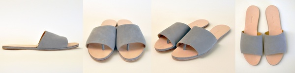 The Palatines Caelum Slide Sandal |  Gray
