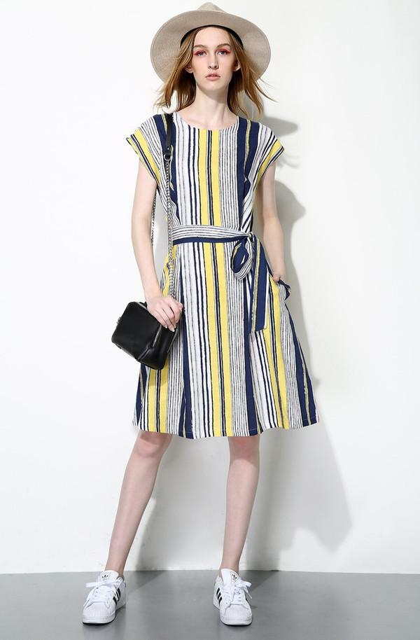 Few Moda Vertical Stripes Dress