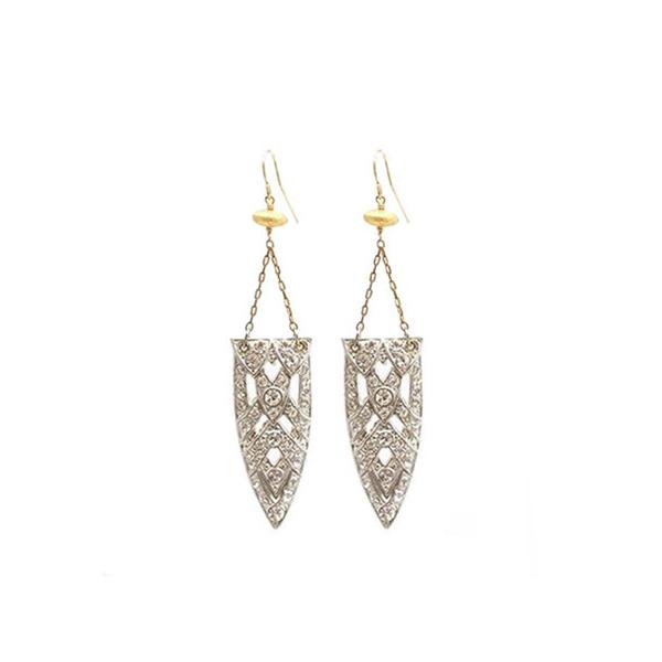 Maslo Carnegie vintage earrings