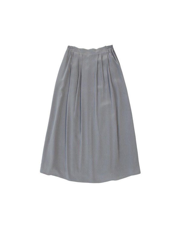 Ali Golden MIDI SKIRT | Gray