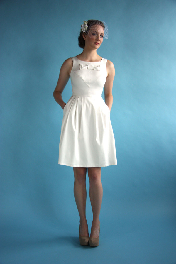 Birds Of North America Bridal Glide Dress