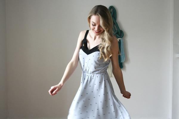 Eve Gravel Sea Of Love Dress