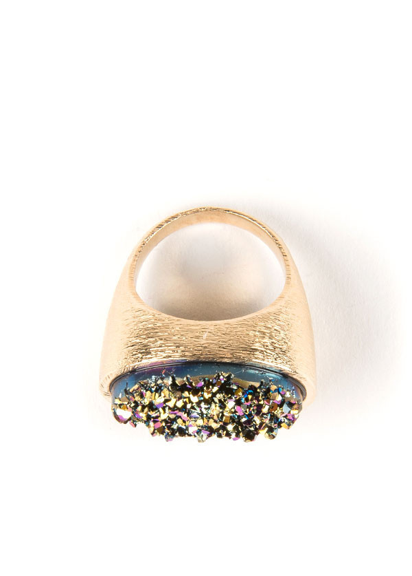 Marcia Moran  Horizontal Oval Ring