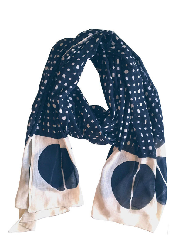Seek Collective Wayfarer Scarf | black hole