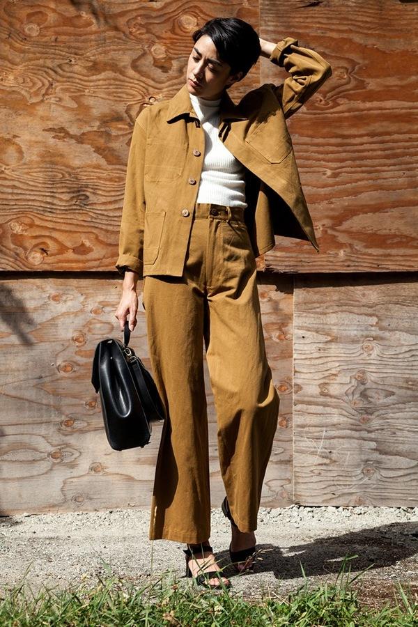 Caron Callahan Stewart Pant   cotton/linen twill