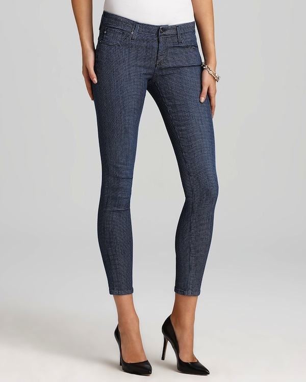 AG Denim Square Dot Legging