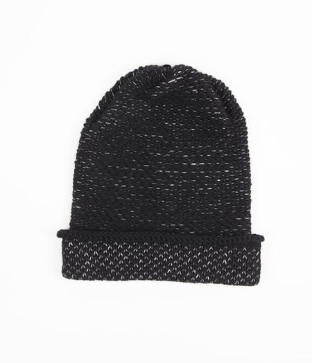 Kordal Seed Stitch Hat Black/Dk Grey