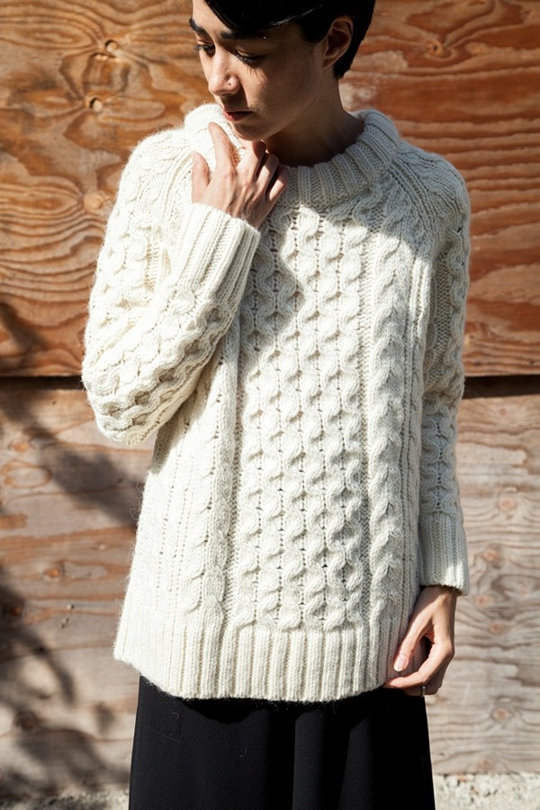 Apiece Apart Fisherman Sweater