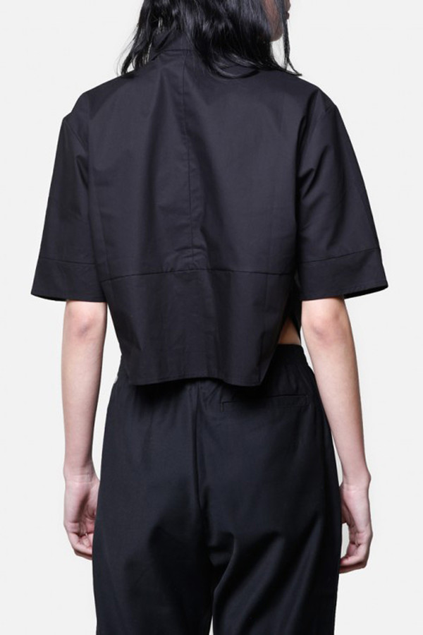 OAK Cropped Panel Shirt