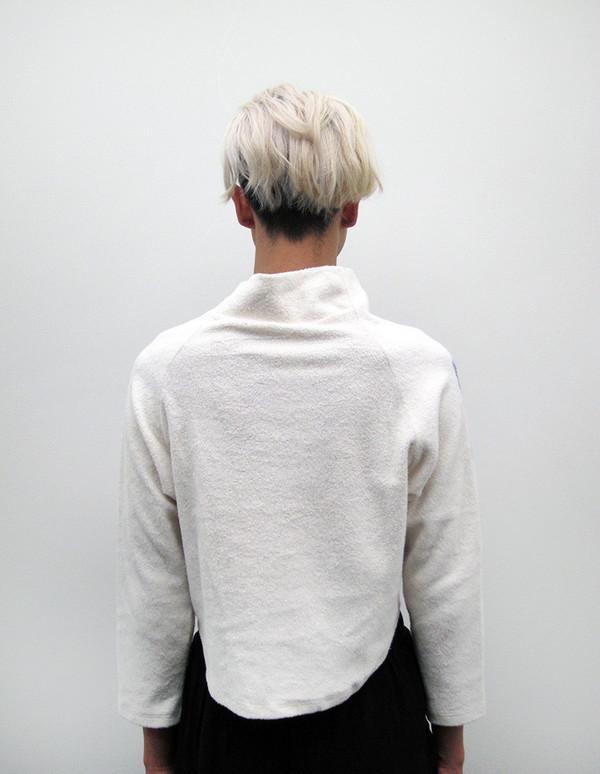Eckhaus Latta Crop Sweatshirt | My Own Private I Don't Know