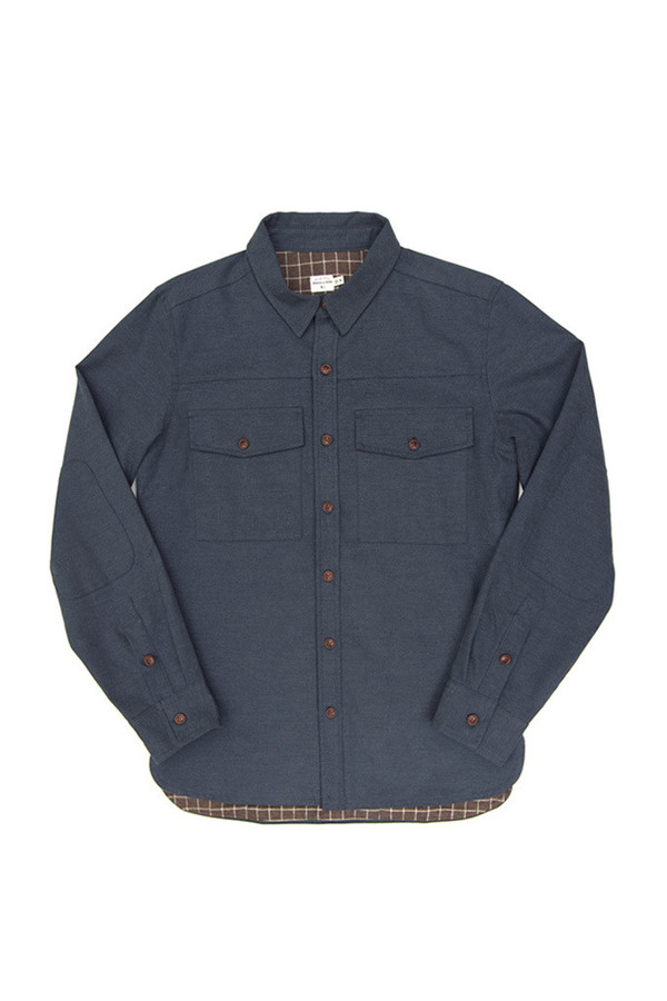 Flint Slate Blue Overshirt