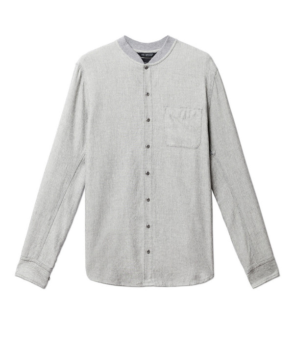 Men's Wings + Horns Jespe Herringbone Shirt
