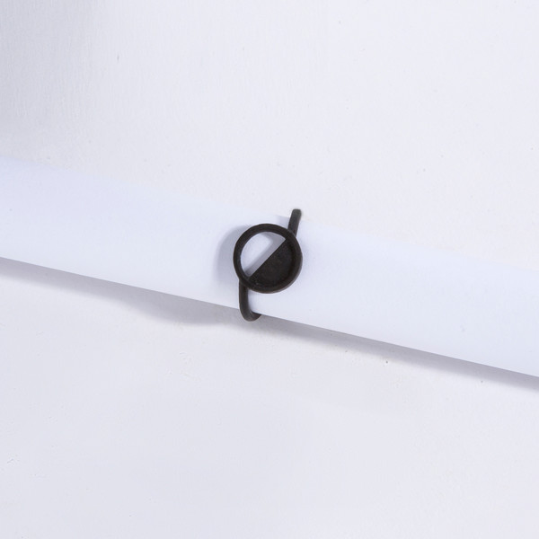 Metalepsis Projects Wavelength Ring | matte black