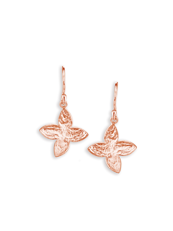 SíSí Design Rose Gold Jasmine Earrings