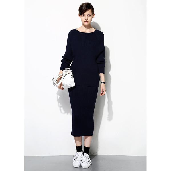 FEW MODA Sporty Knitted Dress Set