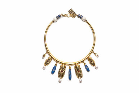 LIZZIE FORTUNATO THE CLEOPATRA COLLAR