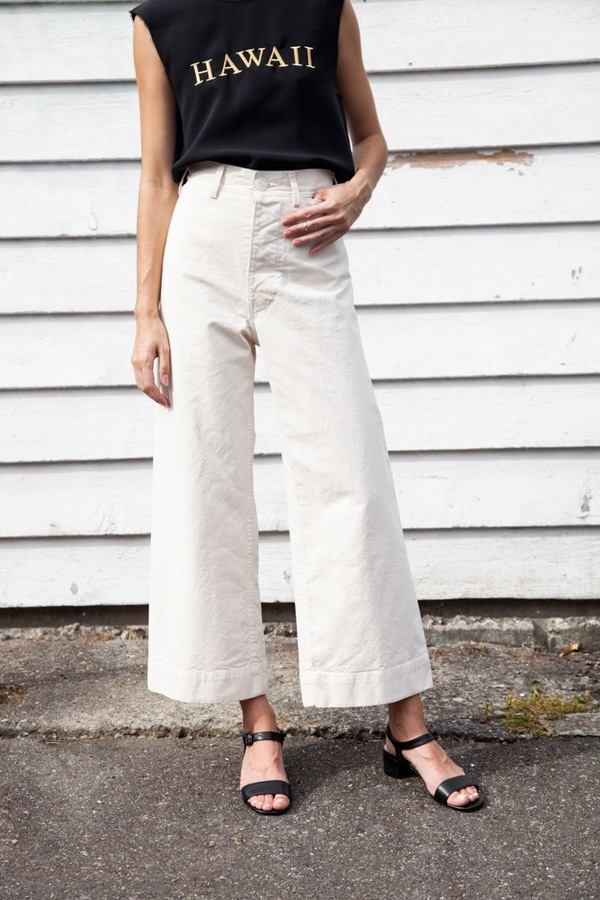 Jesse Kamm Sailor Pant - natural