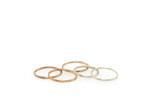 Mercurial NYC Memory Ring