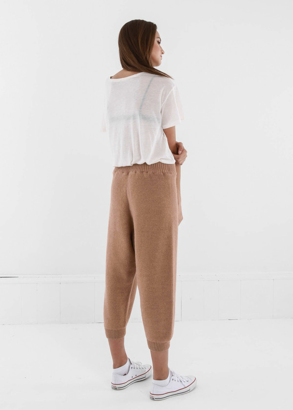 Baserange Tan Gerda Trousers