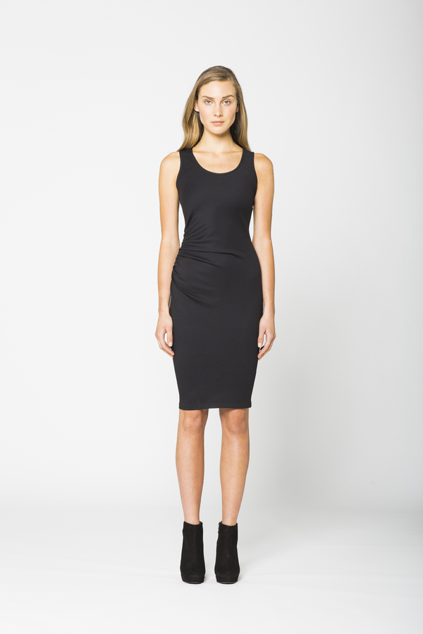 Obakki Scoop Neck Dress