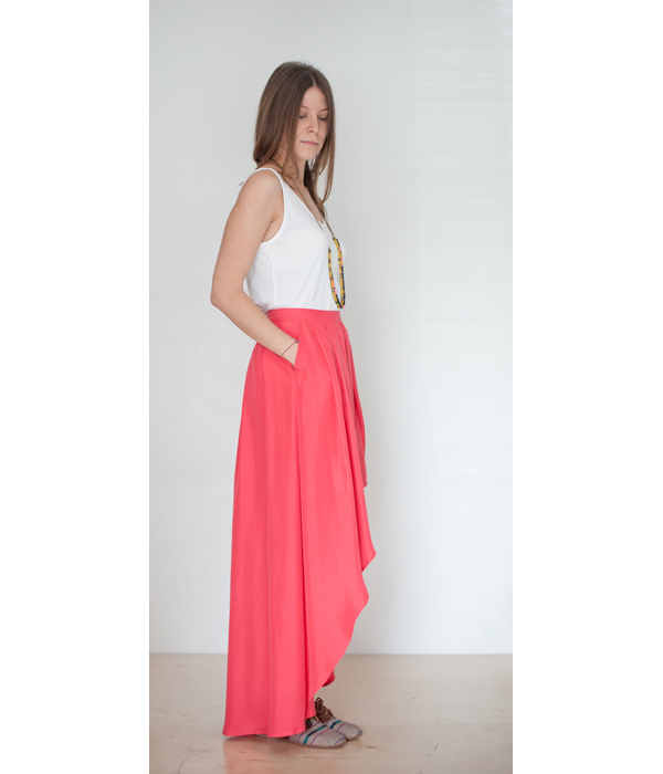 Funktional Uneven Skirt