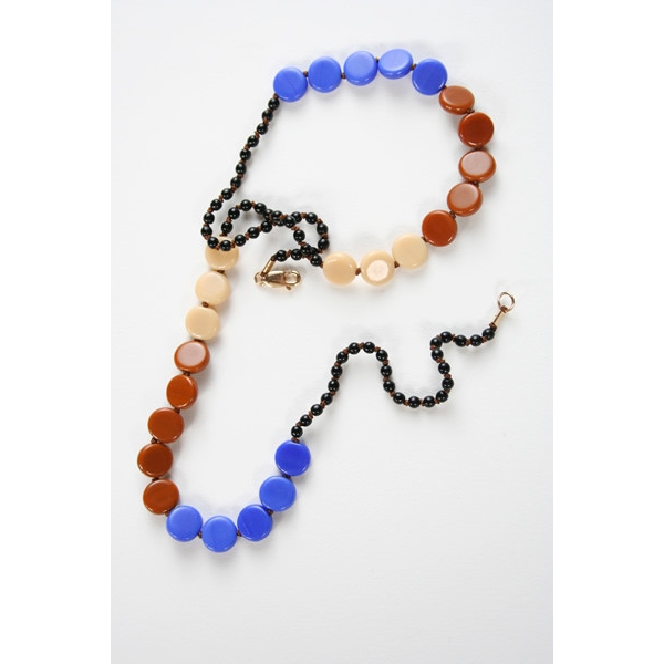 I. Ronni Kappos Blue Necklace