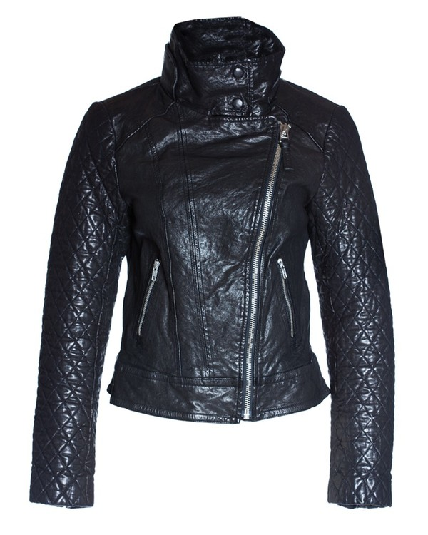 Mackage Jimmie Leather Bomber Jacket