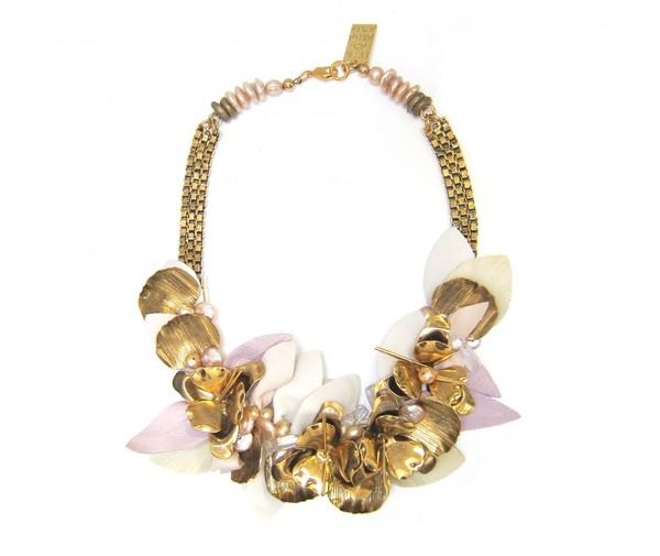 Lizzie Fortunato Desert Lily Necklace