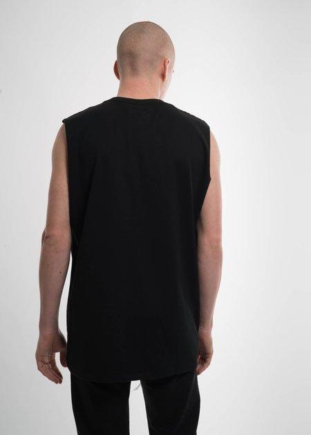 Doublet Black Deadstock Embroidery Tank