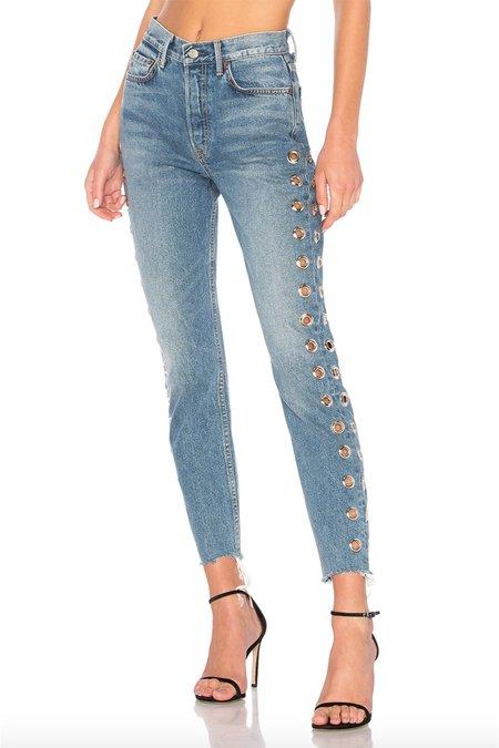 GRLFRND Karolina High Rise Skinny Jean - Femme Fatale