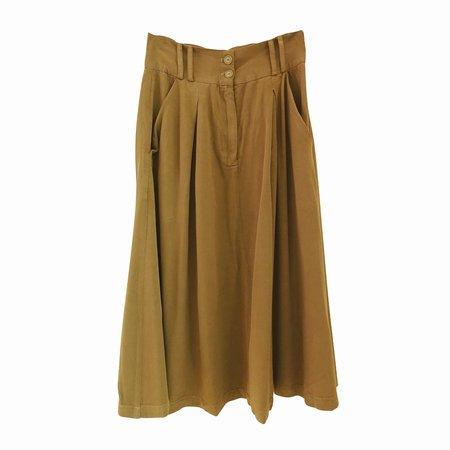 nico nico Arlo Pleated Skirt - Tan
