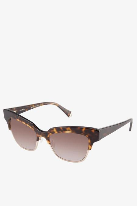 Kate Young for Tura Debbie Sunglasses in Tortoise