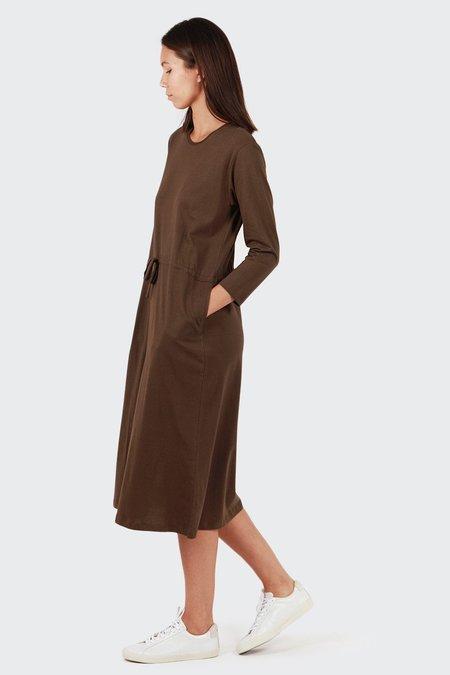 Kowtow Building Block Lounge Dress - Moss