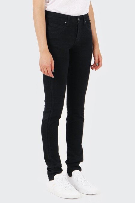 Dr Denim Snap Jeans - Black