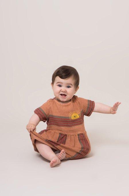 Bobo Choses Stripes Linen Tee Dress
