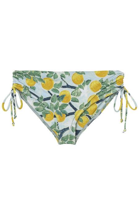 WHiT Reef Top + Bikini - LEMON GROVE